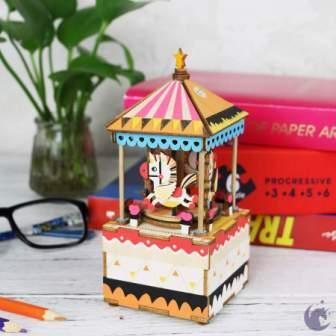 DIY Music Box Merry-Go-Round