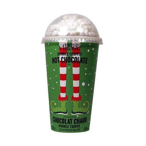 Elf Hot Chocolate Gift Cup With Marshmallows