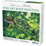 Fine Art Body Painting Butterfly Puzzle 1000 pc