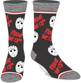 Friday the 13th Crew Socks