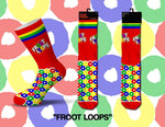 Fruit Loops Mens Crew Socks