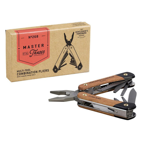 Gentlemen's Hardware Multi-Tool Combination Pliers