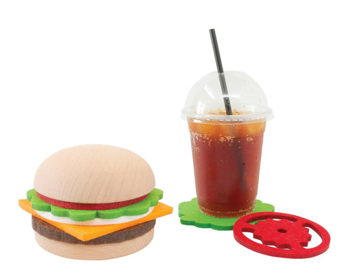 Hamburger Coaster Set