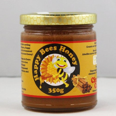 Happy Bees Cinnamon Honey 350g