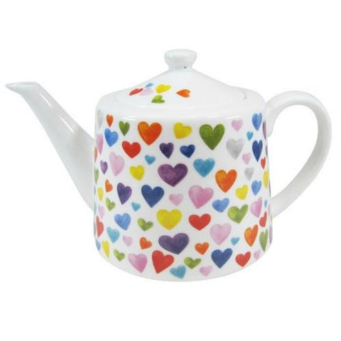Happy Hearts Teapot