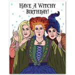 Hocus Pocus Have a Witchy Birthday Card