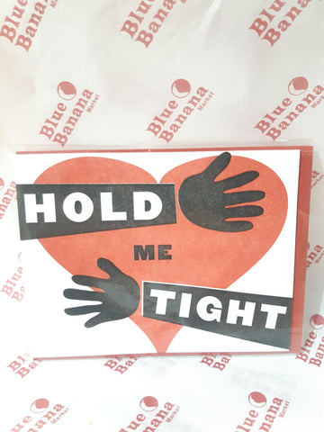 Hold Me Tight Card
