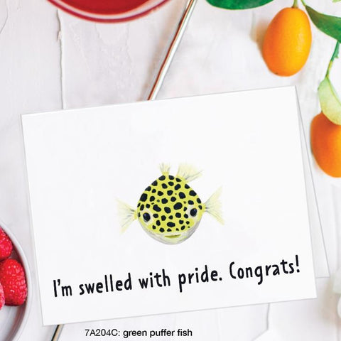 I'm Swelled With Pride Congrats! Card