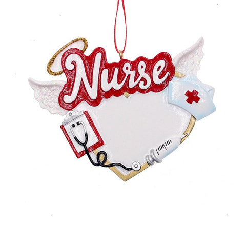Kurt Adler Angel Nurse Ornament