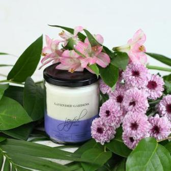 Lavender Gardens Soy Candle 8oz