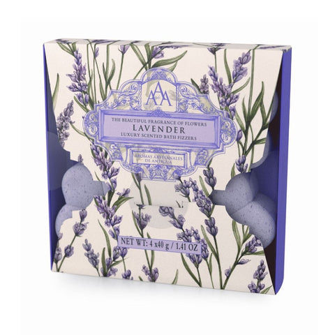 Lavender Luxury Scented Bath Fizzers