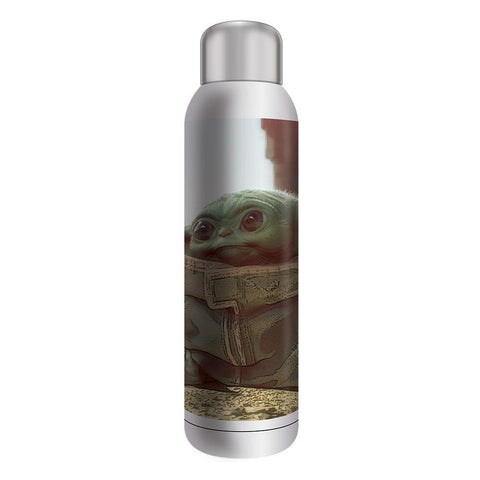 Mandalorian The Child Stainless Steel Water Bottle