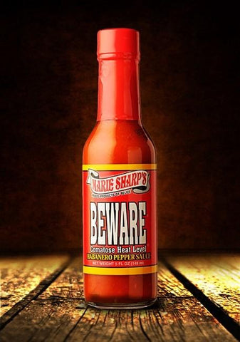 Marie Sharp's Beware Habanero Pepper 10 oz