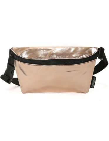 Metallic Rose Gold Fanny Pack