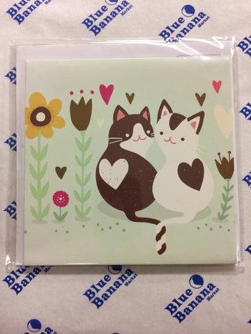 Mother's Day Treasures Pop-up Card Kitties