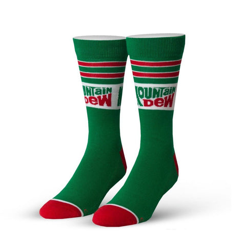 Mountain Dew Retro Socks