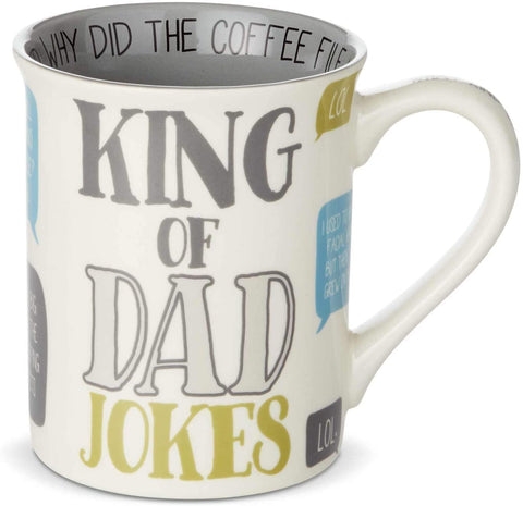 Mug King of Dad Jokes