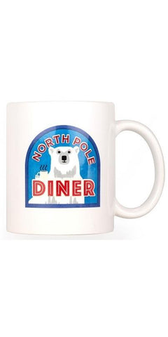 North Pole Souvenir Mug