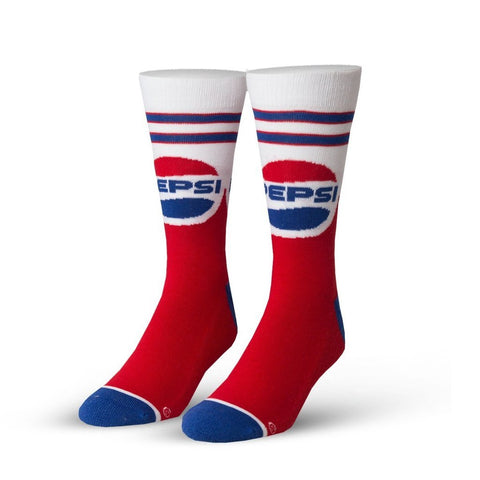 Pepsi Throwback Socks