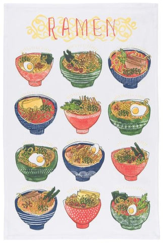 Ramen Tea Towel