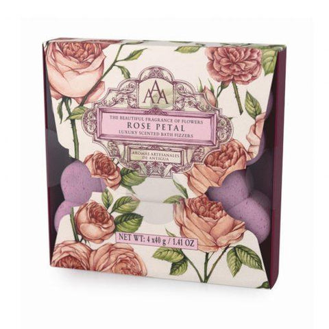 Rose Petal Luxury Scented Bath Fizzers