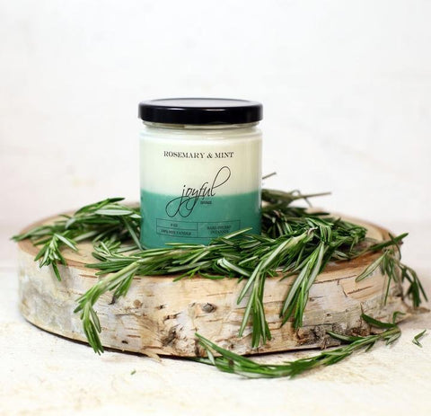 Rosemary & Mint 8 oz Soy Candle