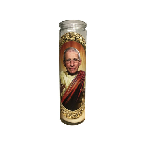 Shrine On Saint Dr. Fauci Candle