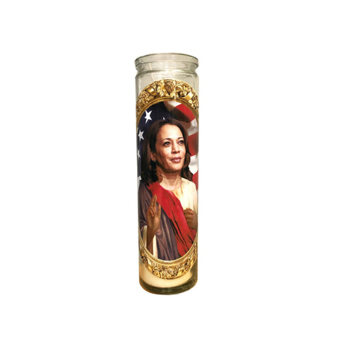 Saint Kamala Harris Candle