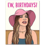 Schitt's Creek Ew Birthdays Card