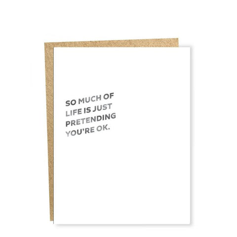 So Much Of Life Card