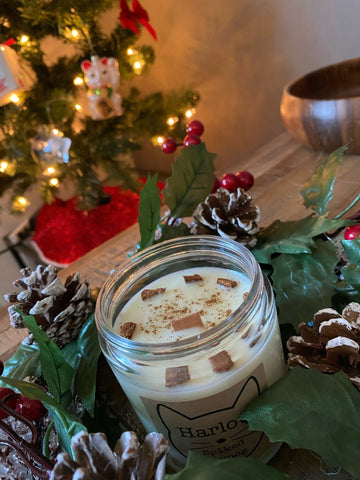 Spiked Eggnog Candle