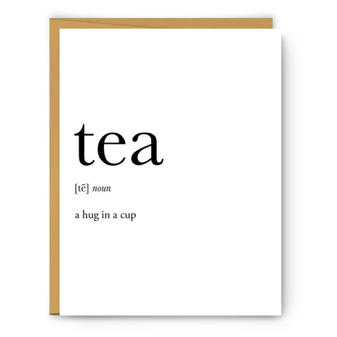 Tea A Hug In A Cup Card