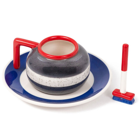 The Curling Espresso Set