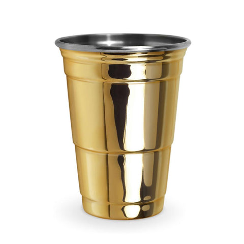 The Gold Party Cup 16 oz