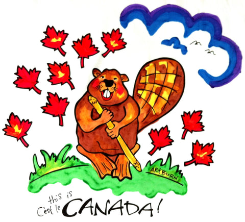 This Is Canada Pillowcase Painting Kits for Kids