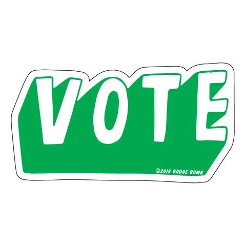Vote Big Sticker