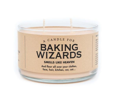 Whiskey River Candle For Baking Wizards