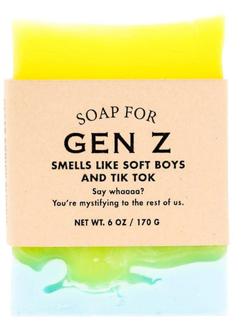 Whiskey River Gen Z Soap