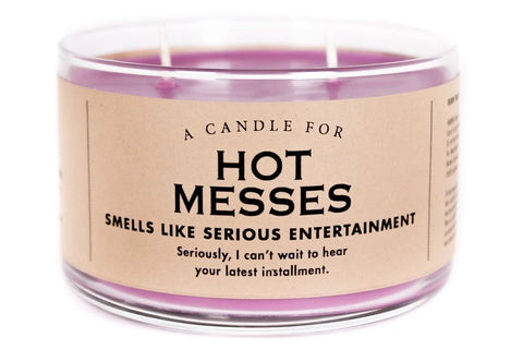 Whiskey River Hot Messes Candle