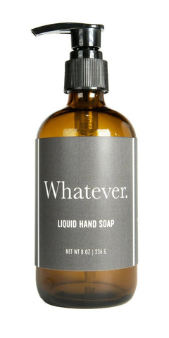 Whiskey River Whatever Liquid Soap