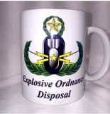 Keep Calm & Suit Up / EOD Badge Coffee Mug