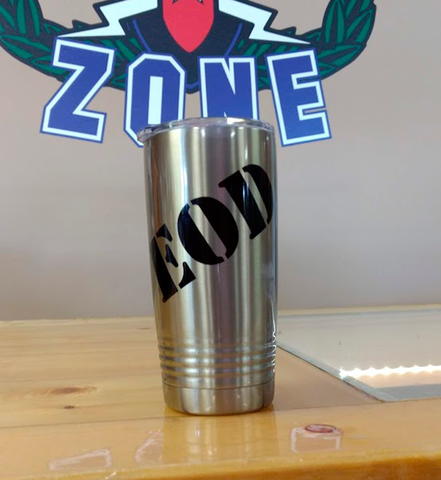 Bomb Suit Guy 20 oz Tumbler