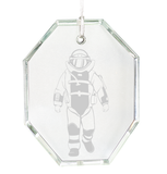 Sand Carved Bombsuit Ornament