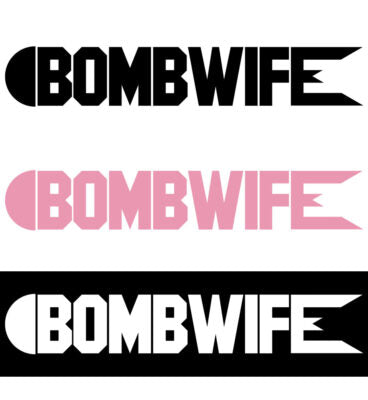 BombWIFE Horizontal Decal