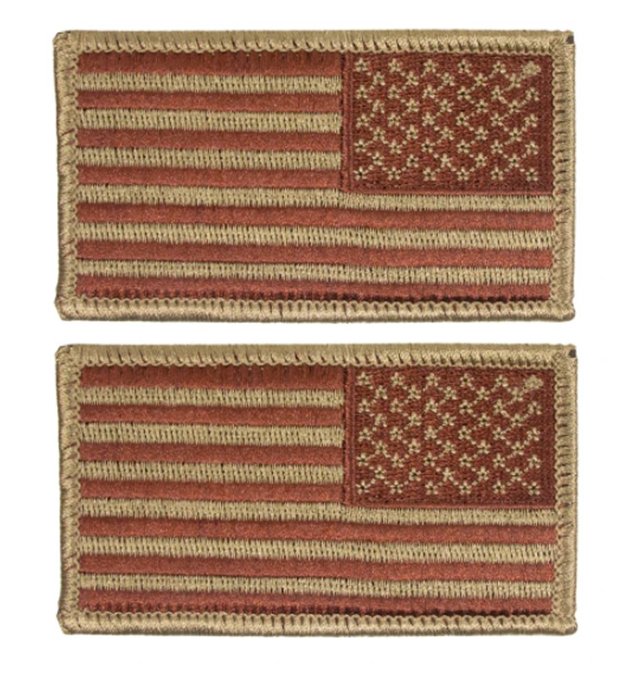 US Flag, Spice Brown (Air Force OCP)