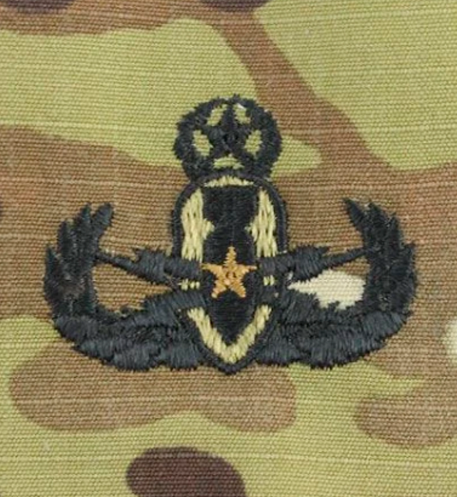 Army Master OCP Badge