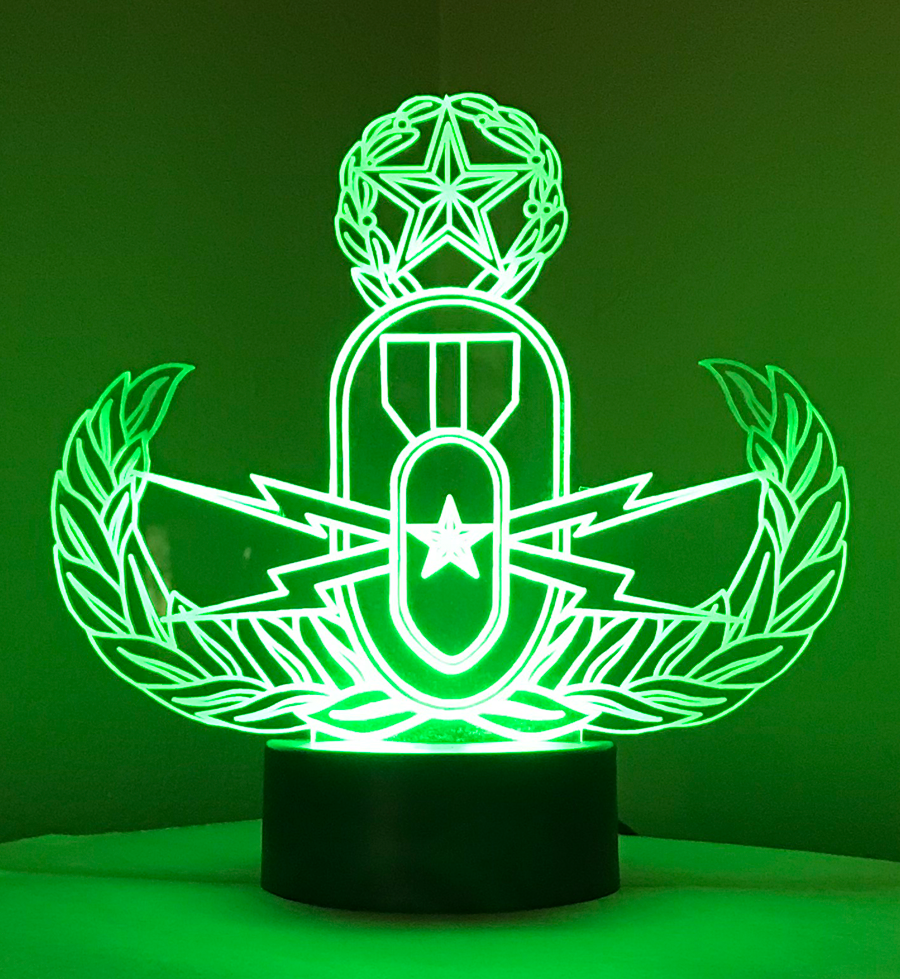 Master Badge Acrylic Nightlight
