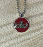 EOD Badge Pendant and Necklace