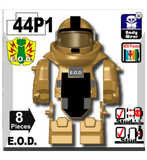 Battle Brick: Tan Bomb Suit