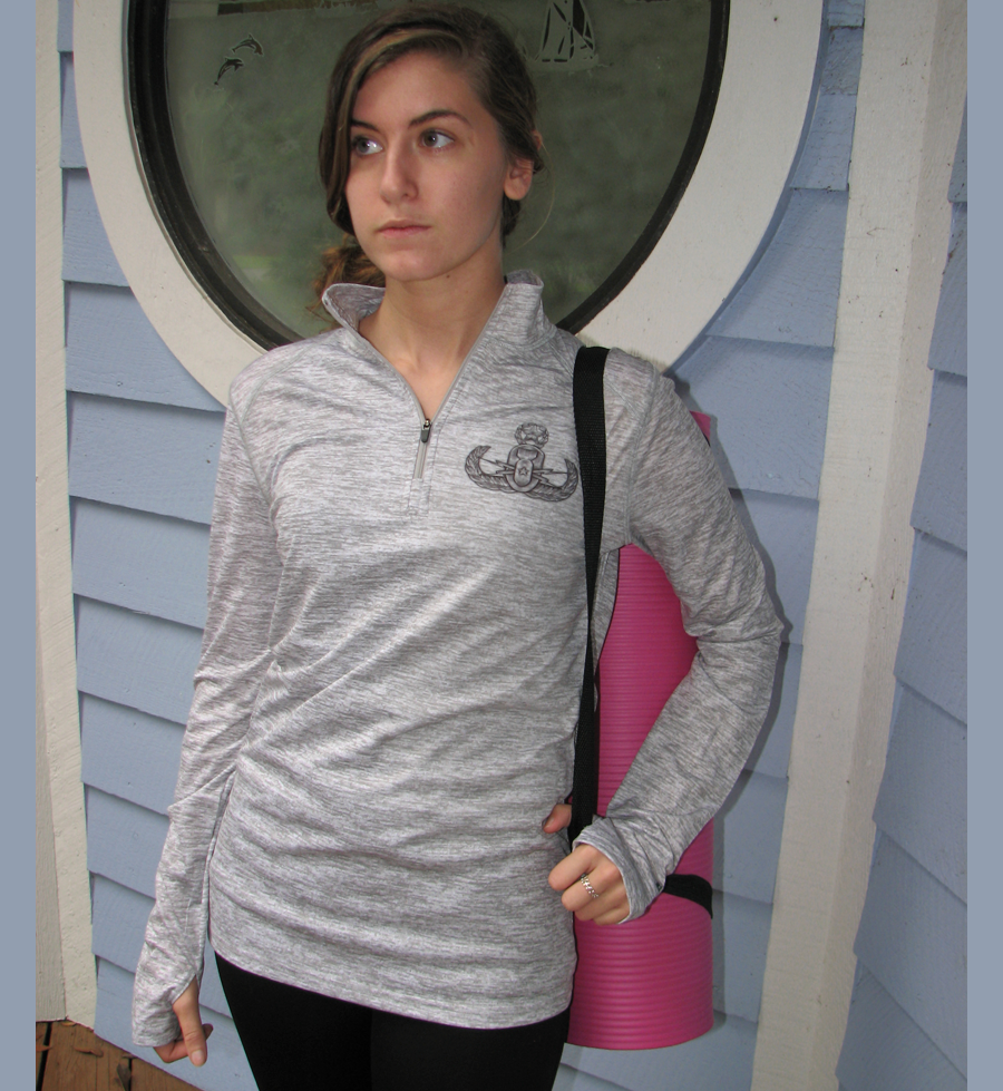 Men and Womens 1/4 Zip Crab Pullover